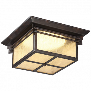 Hickory Point 15- Wide LED Outdoor Ceiling Light