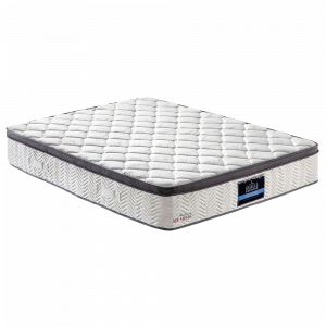 Ecological Queen Mattress Fabric Euro Top Pocket  Mesh Bed