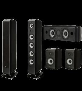 Boston Acoustics M340 5.0 Home Theater Speaker System