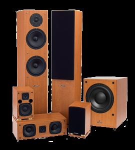 Fluance SX Series High Definition Surround Sound Home Theater 5.1