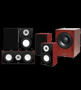 Fluance XL Series 5.1 Home Theater Surround Sound Speaker System