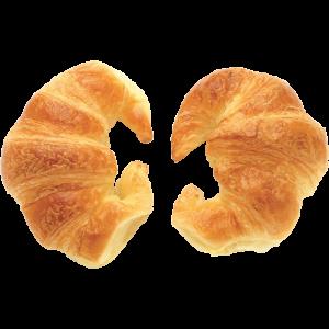 Croissant with cherries