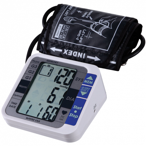 GoWISE USA GW22051 Digital Blood Pressure Monitor