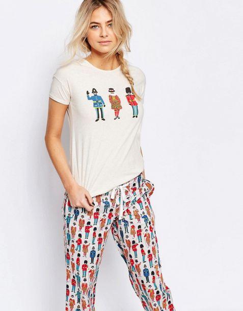 Cath Kidston Guards Pyjama Tshirt