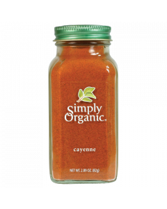 Simply Organic Cayenne Pepper Certified Organic