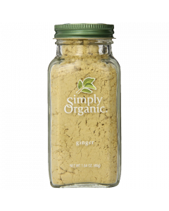 Simply Organic Ginger Root Ground Certified Organic