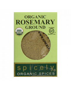 Spicely Organic Rosemary Ground  Compact
