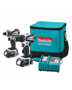 Makita LCT200W Compact Lithium-Ion Cordless Combo Kit