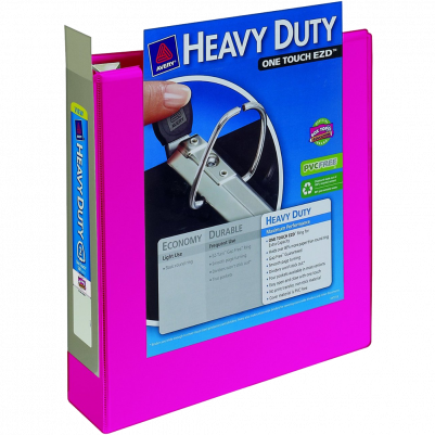 Avery Heavy Duty 2 inch Black View Binder