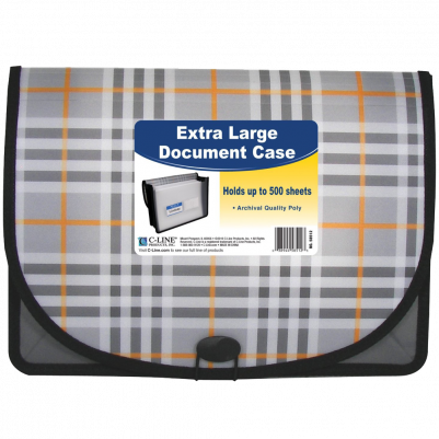 C-Line Extra Large Poly Document Case