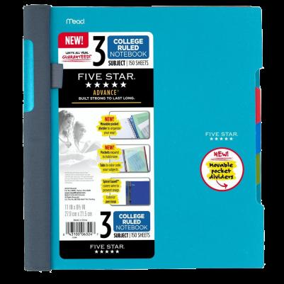 Five Star Advance Spiral Notebook-Standard Size