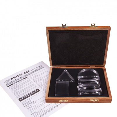 United Scientific Acrylic Prisms and Lenses Set of 6