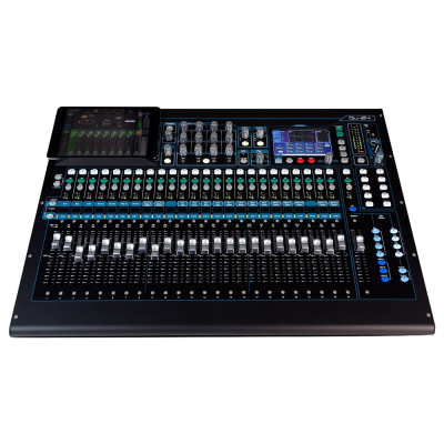 Allen and Heath QU 24 Digital Mixer, Chrome Edition