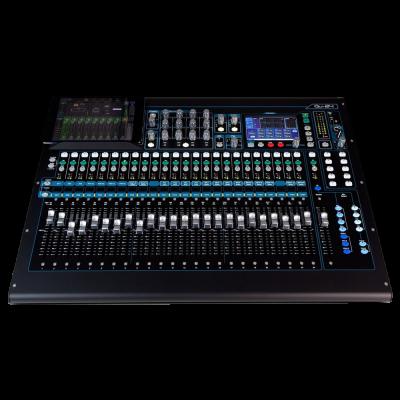 Allen and Heath QU 24 Digital Mixer, Chrome Edition