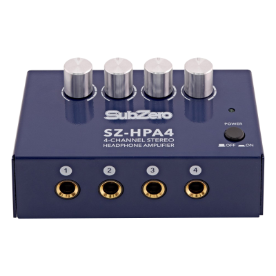 SubZero SZ HPA4 4 Channel Headphone Amp