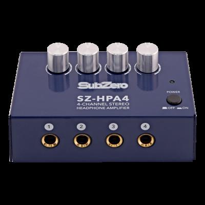 SubZero SZ HPA4 4 Channel Headphone Amp