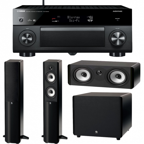 Yamaha RX A2040BL 9.2 Channel Wi Fi Network AVENTAGE Home Theater