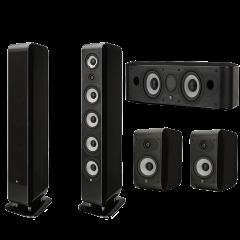 Boston Acoustics M340 5.0 Home Theater Speaker System   M340, M25B & MCenter