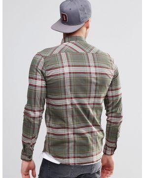 Element Buffalo Plaid Flannel Shirt in Regular Fit