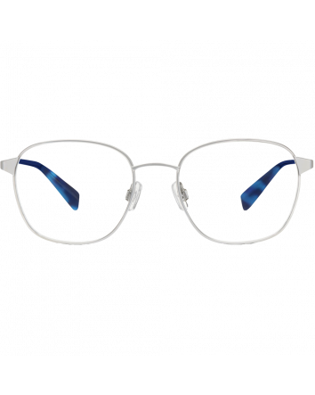 Nesbit Eyeglasses in Jet Silver for Men