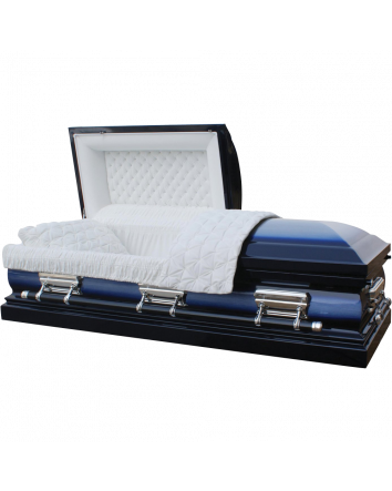 Star Legacy Deluxe Casket Midnight Blue