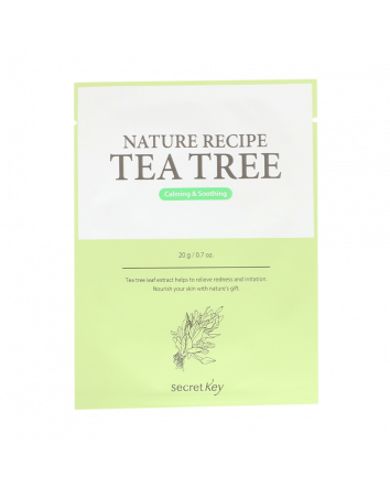 Secret Key, Nature Recipe Mask Pack, Tea Tree, 10 Masks