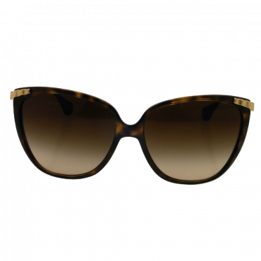D&G DD8096 Sunglasses 502 13 Havana (Brown Gradient Lens) 58mm
