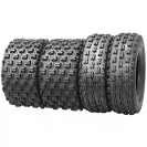 Set of 4 New Sport ATV Tires 21x7-10 Front & 20x11-9 Rear