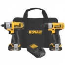 DEWALT DCK210S2 12-Volt Max Screwdriver-Impact Driver