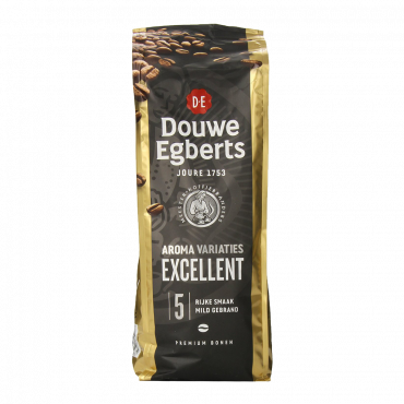 Douwe Egberts Excellent Aroma Whole Beans Coffee 17.6 Ounce Package