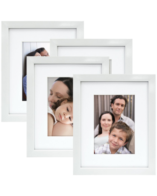 Mcs 8x10 Gallery Picture Frame Matted To Display 5x7 Pictures Glass Front