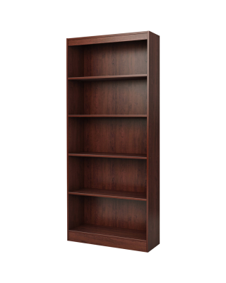 South Shore Smart Basics 5 Shelf Bookcase, Multiple Finishes