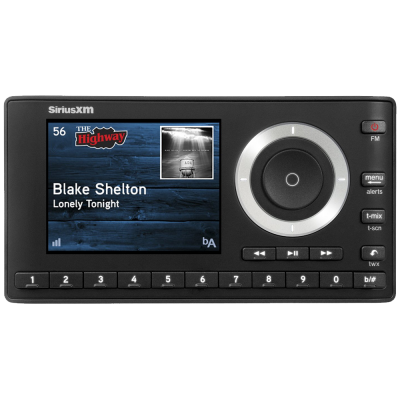 SiriusXM Satellite Radio SXPL1V1 Onyx Plus with Vehicle Kit