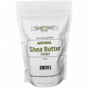 Shea Butter - Nature's Perfect Organics 100% Pure