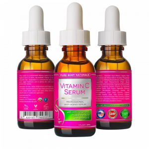 Vitamin C Serum with Hyaluronic Acid Ferulic Acid Anti Aging