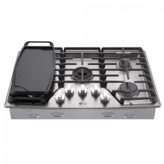 LG STUDIO 30 in Gas Cooktop