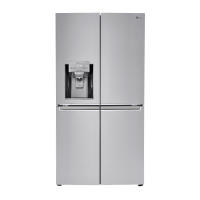 LG 23 cu. ft. Capacity 4 Door French Door Counter Depth Refrigerator