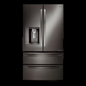 LG Black Stainless Steel Series 27 cu. ft. 4 Door French Door Refrigerator