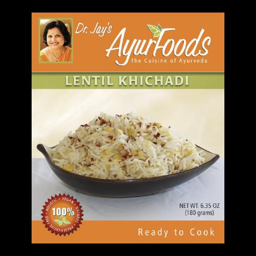 Dr. Jay's Ayurfoods Lentil Khichadi