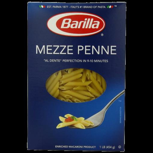 Pasta, Mezze Penne, Barilla
