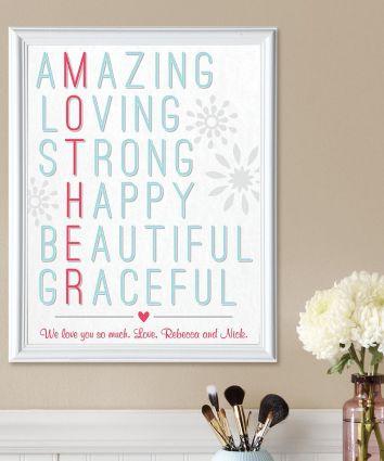 Amazing Mother Framed Print