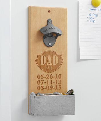 Established Wood Bottle Opener