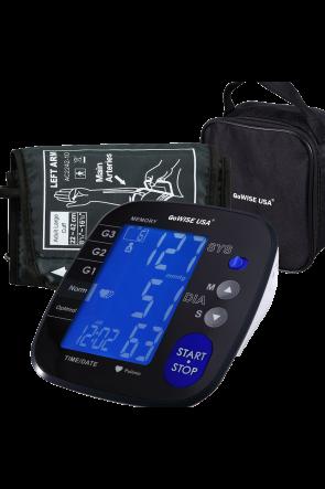 GoWISE USA Advanced Control Digital Blood Pressure Monitor