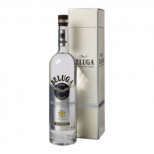Beluga Noble Vodka 40% ABV, Magnum