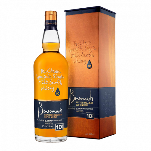 Benromach 10 Years Old Single Malt Scotch Whisky