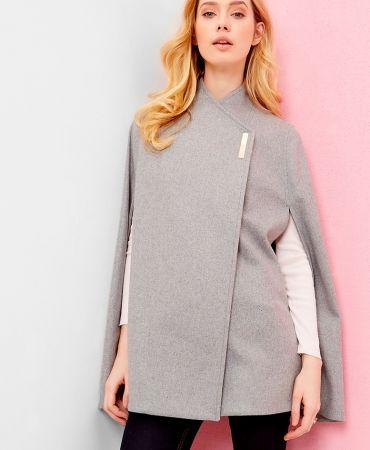 AILLAA Wool wrap over cape