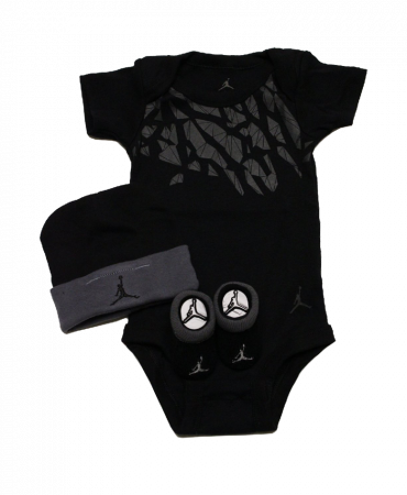 Air Jordan Baby Infant 3pcs Sets Bodysuit Layette Oneies